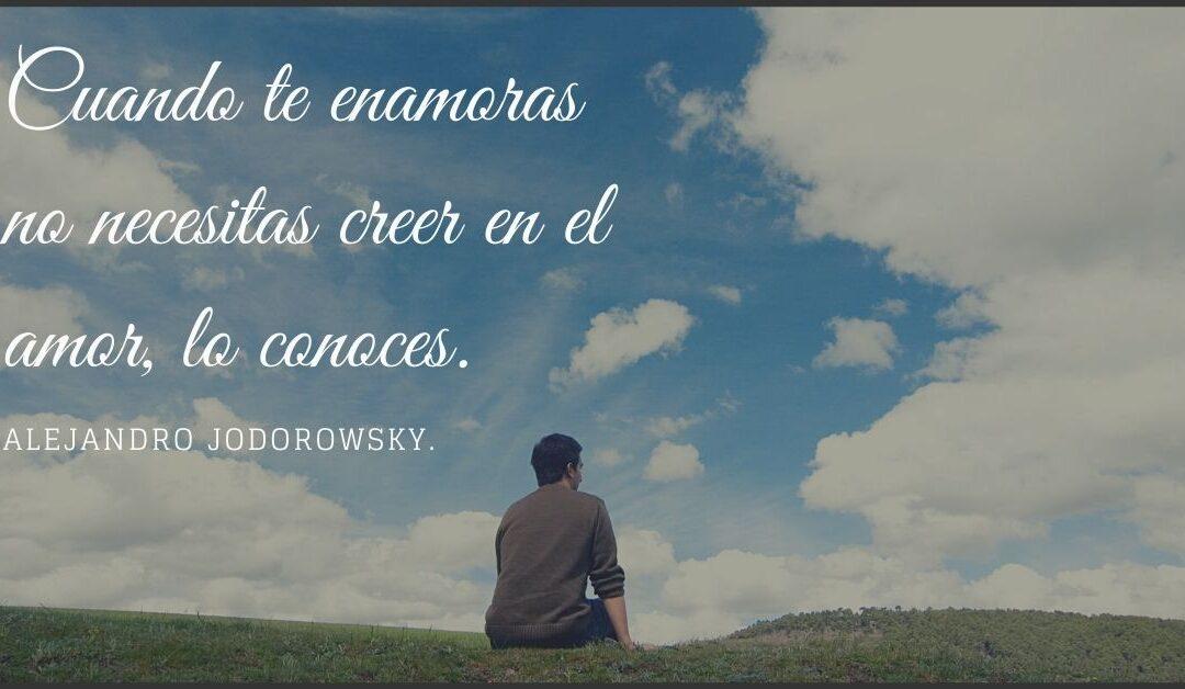 25 frases de amor de Alejandro Jodorowsky.